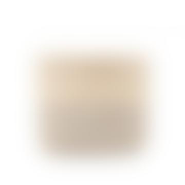 XS Grey Colour Block Woven Basket