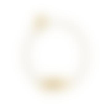 Alex Monroe Sail into the Sunset Engraved I-D Bracelet Gold
