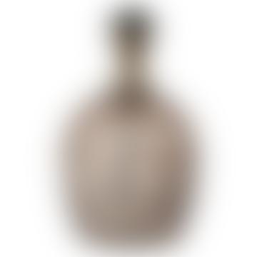 Julia Table Lamp Glass Brown