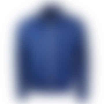 Taped Track Jacket Nautical Blue