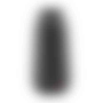 Vase Groove Black 35cm
