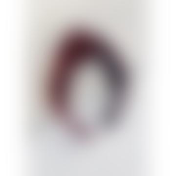 Rich Burgundy Velvet Headband Hairband