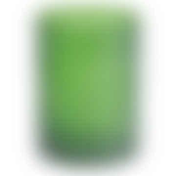 Libra Company Ltd Palma Botanical Green Glass Hurricane Lantern