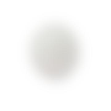 6 Inch Arabic Dove Grey Mantel Clock