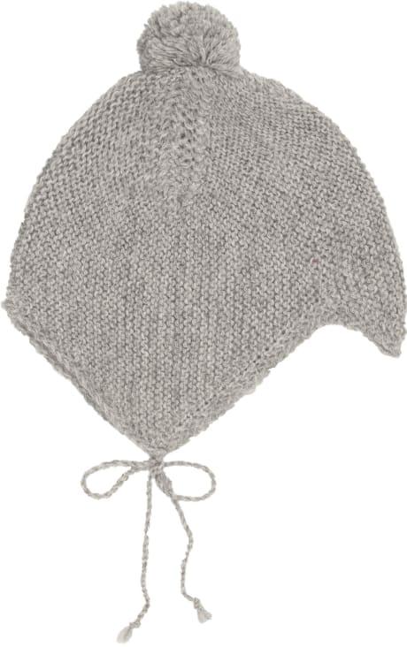 5ae7e7dc5ca Trouva  Huttelihut Grey Bolivia Baby Hat