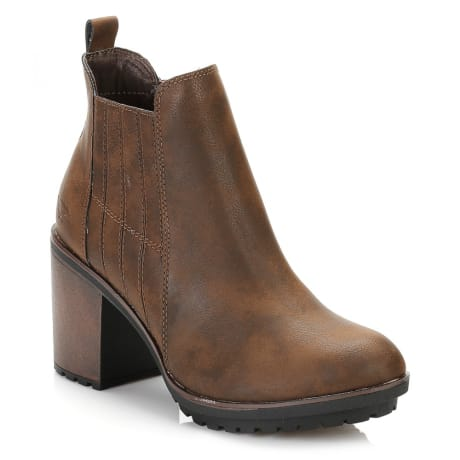 5ac8eccad02b Trouva  Rocket Dog Womens Brown Raegan Ankle Boots