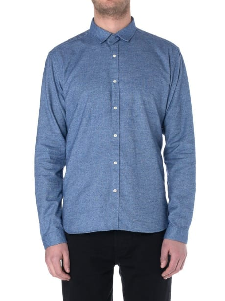 998eff397000b Trouva  Clerkenwell Tab Rutherford Blue Shirt