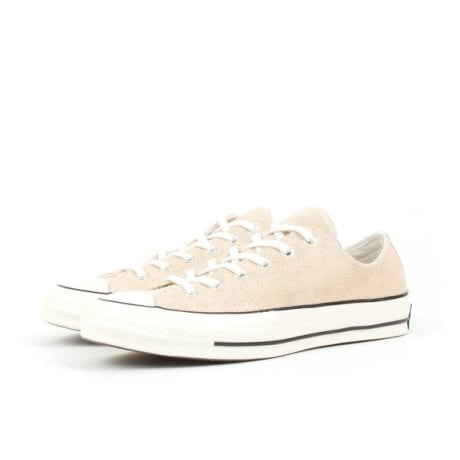 188fc256b95f Converse Light Twine Chuck Taylor All Star 70 Vintage Suede Ox Sneakers