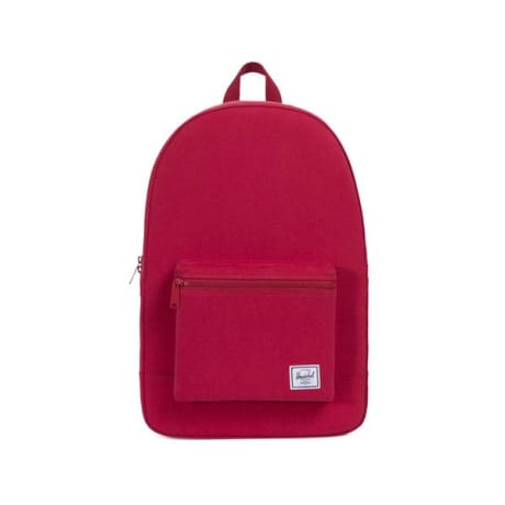 Trouva  Herschel Supply Co. Brick Red Cotton Packable Daypack a86441b86dc14