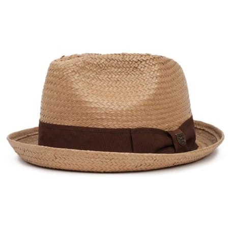 8eaf2ca92a7 Trouva  Brixton Clothing Co Latte Fedora Hat