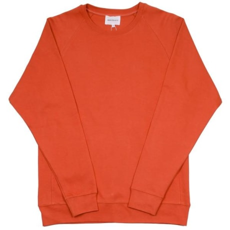 728e756f5a7 Trouva  Norse Projects Burned Red Vorm Summer Interlock Sweatshirt