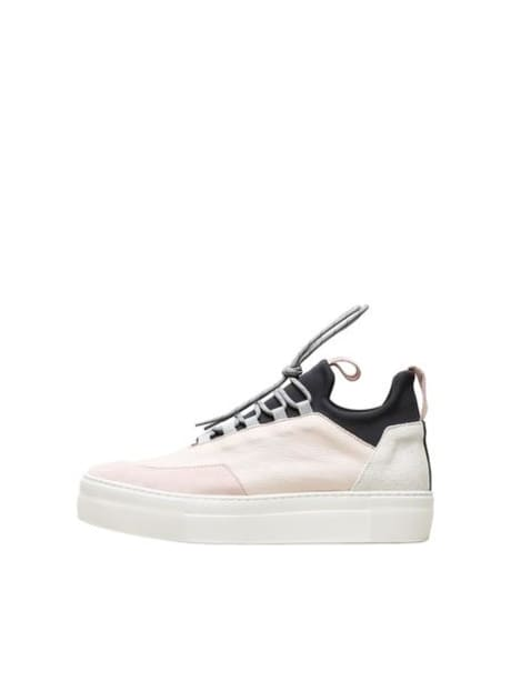 6845233e68c Selected Femme Heavenly Pink Ann Leather Trainers