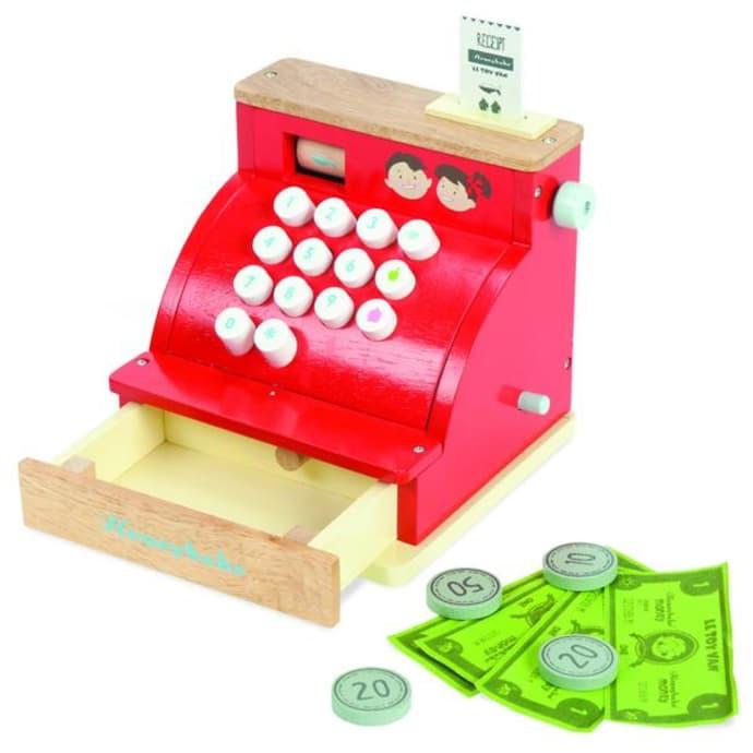 Toy Le Van Cash Wooden Register dxoCBre