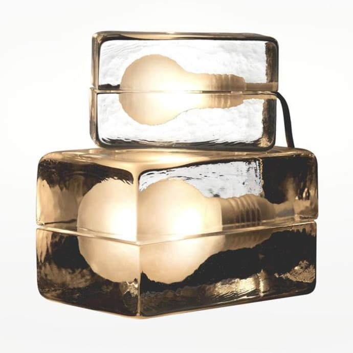 Mini Lamp Design Stockholm Led House Block Bulb WHe9E2IYD