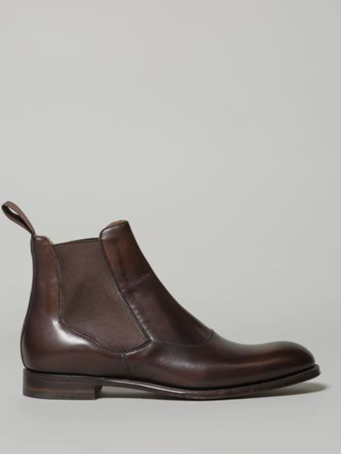Mocha Brummel Cheaney Boot Chelsea Leather POXiZku