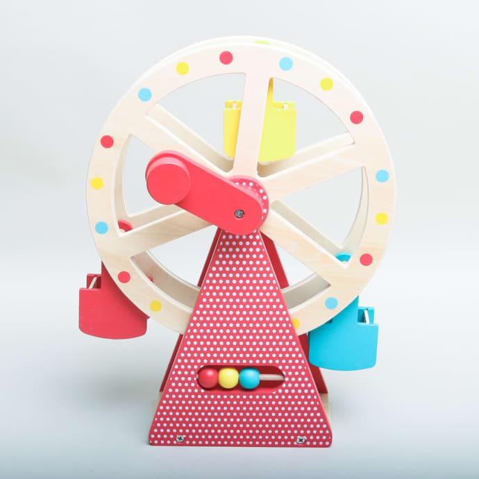 Wooden Toy Petit Ferris Collage Wheel Okw8nPX0