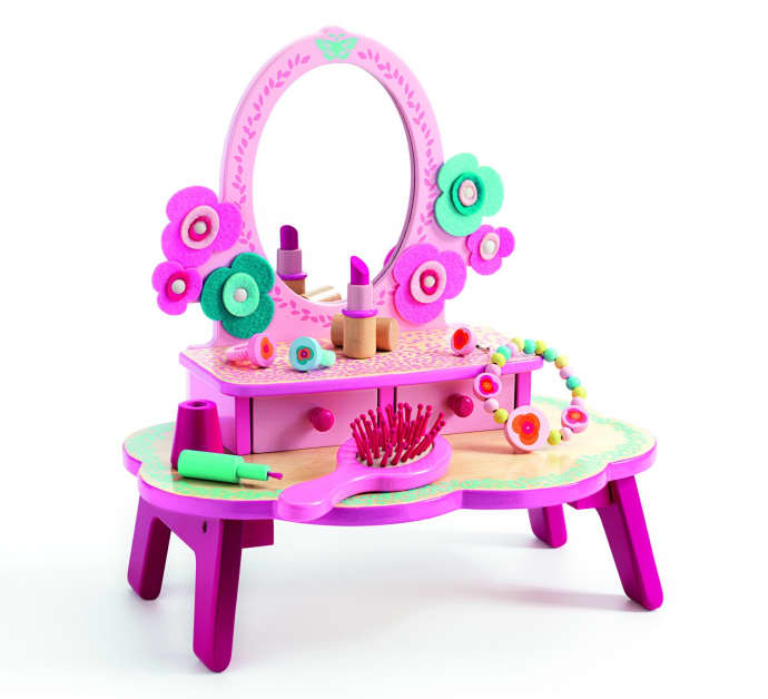 Table Table Dressing Djeco Dressing Toy Toy Flora Djeco Flora Djeco Flora QxorWdCBe