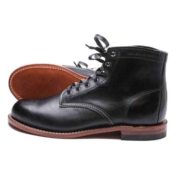 W Miles 1000 Boots Wolverine Black Lj35A4qR