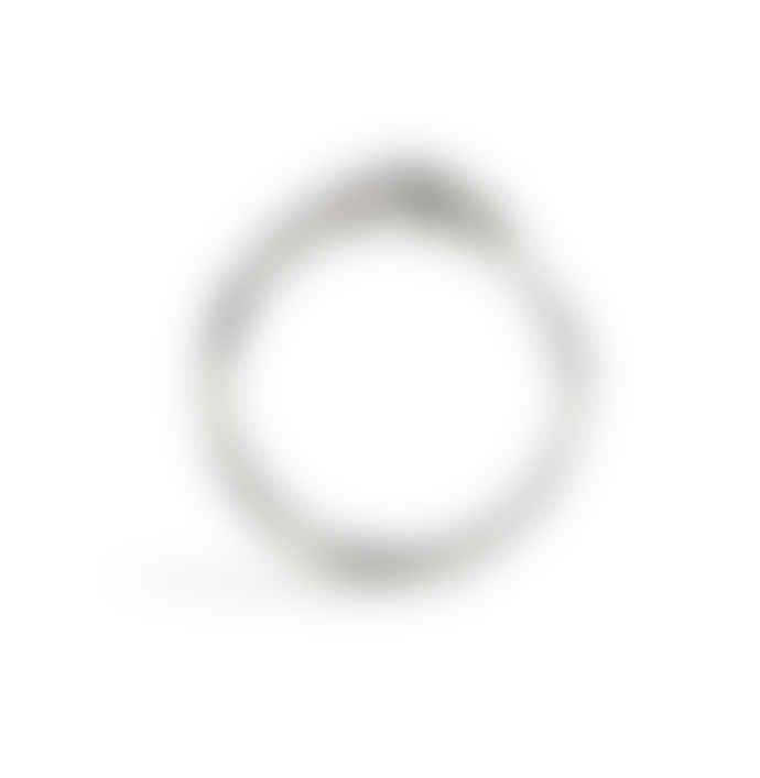 Rachel Entwistle Ouroboros Snake Ring Silver