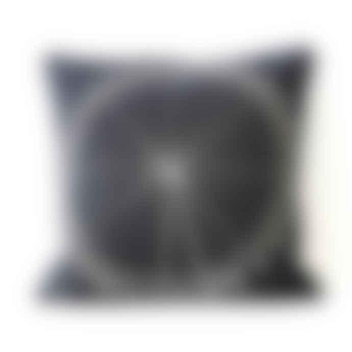 Charlene Mullen London Eye By Night Wool Cushion