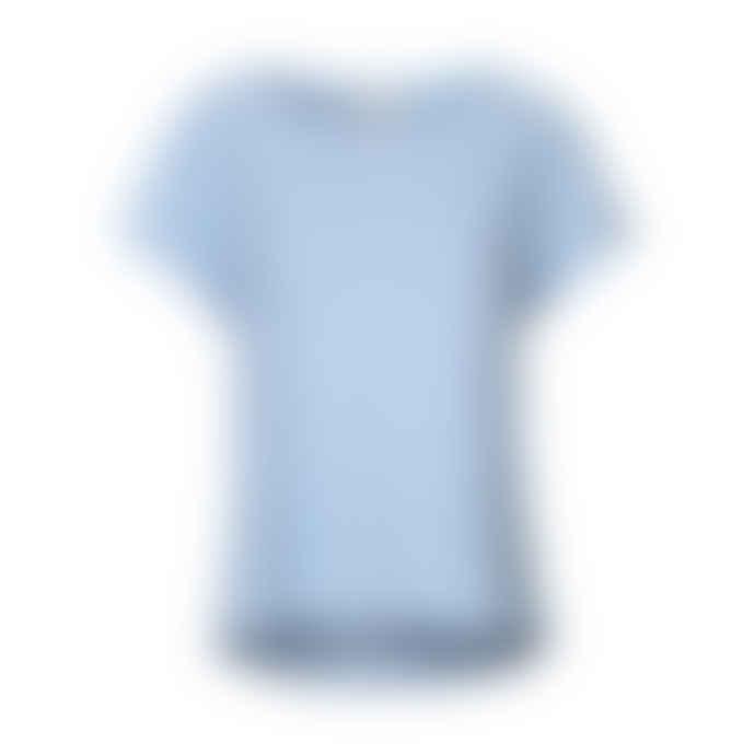 Mads Norgaard Simple T-Shirt - Light Blue