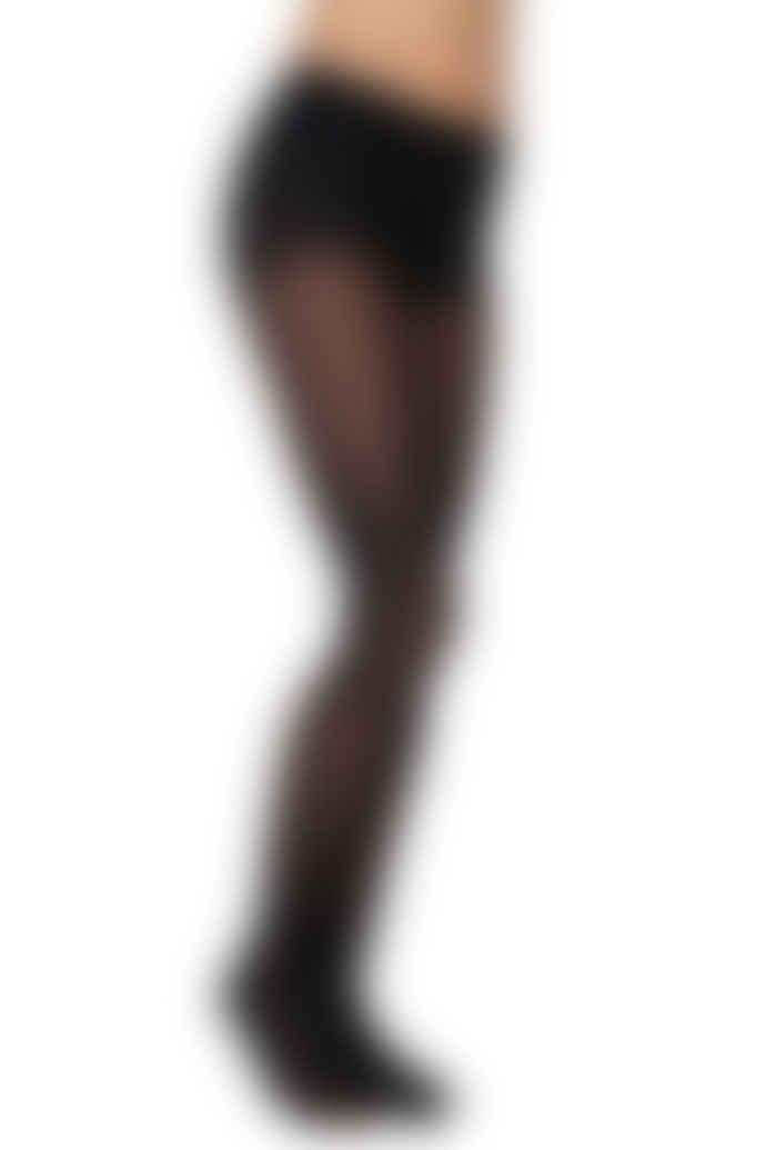 Swedish Stockings Nina Fishbone Patterned Stockings