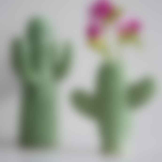 Ceramic Cactus Vase - Large