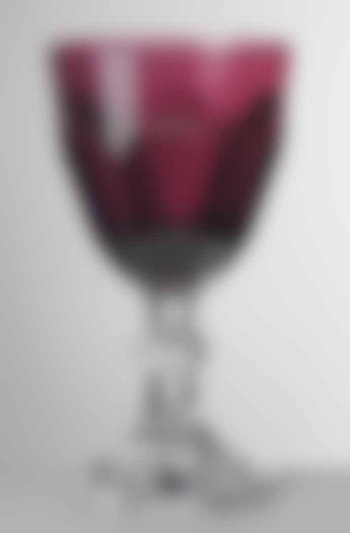 Mario Luca Giusti  Ruby Dolce Vita Water Glass