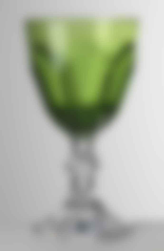 Mario Luca Giusti  Green Dolce Vita Water Glass