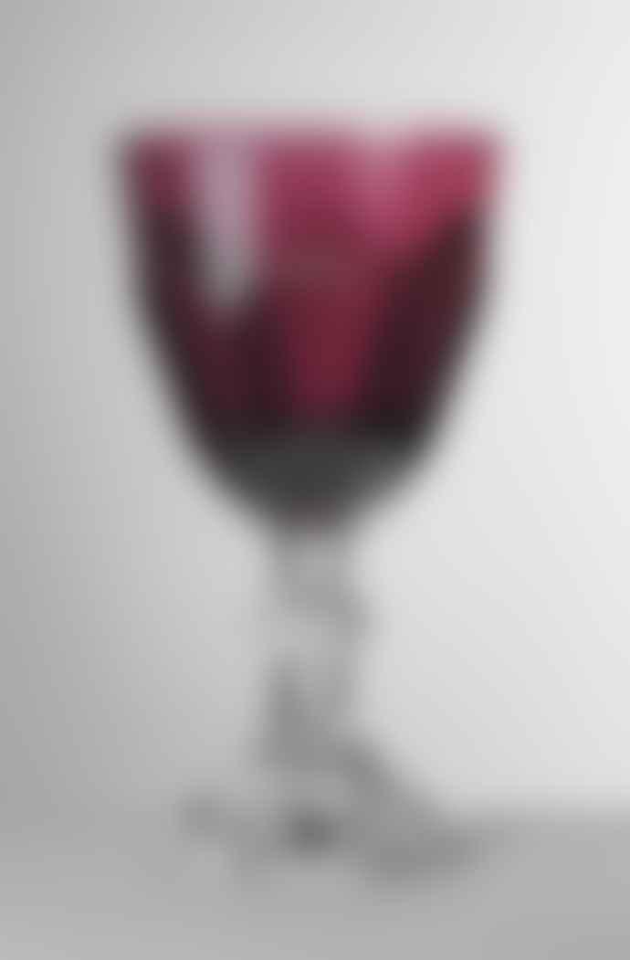 Mario Luca Giusti  Ruby Dolce Vita Wine Glass