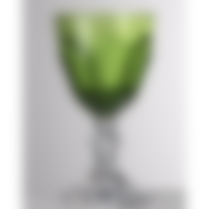 Mario Luca Giusti  Green Dolce Vita Wine Glass