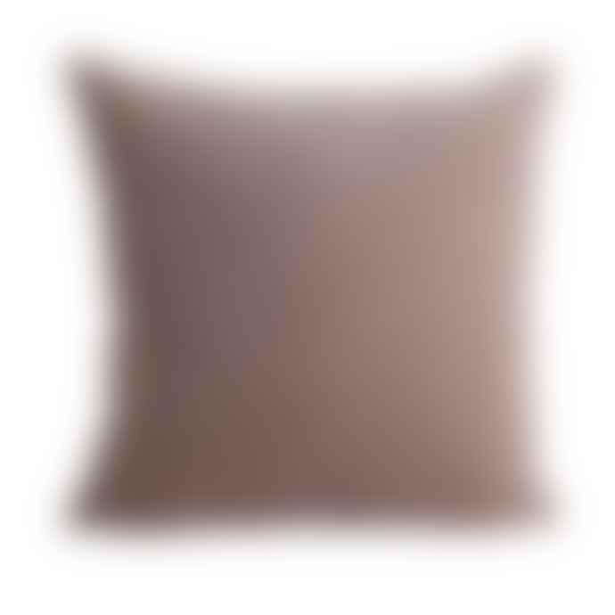 House Doctor Blush Pink Velvet Cushion Cover