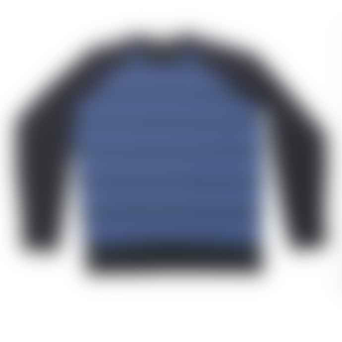 John Smedley Midnight Blue Aaron Jacquard Jumper