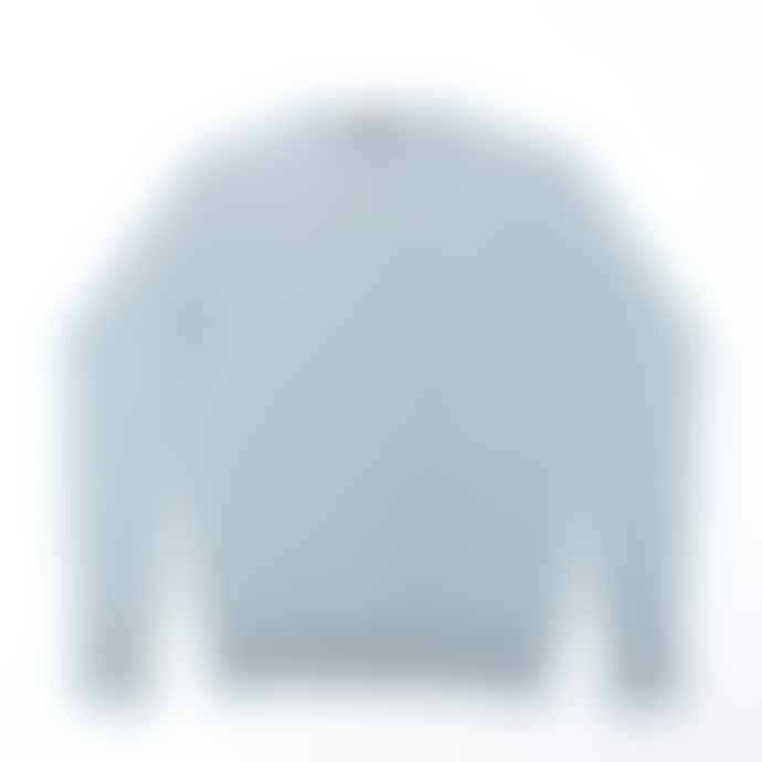 John Smedley Lyndhurst Blue Glass Pullover