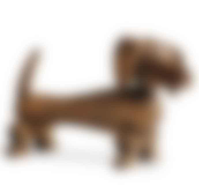Rosendahl Kay Bojesen Dog Walnut Decoration