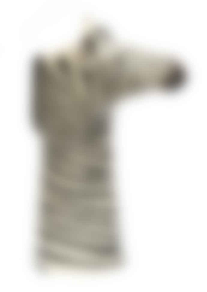 Quail Ceramics Zebra Vase - Medium
