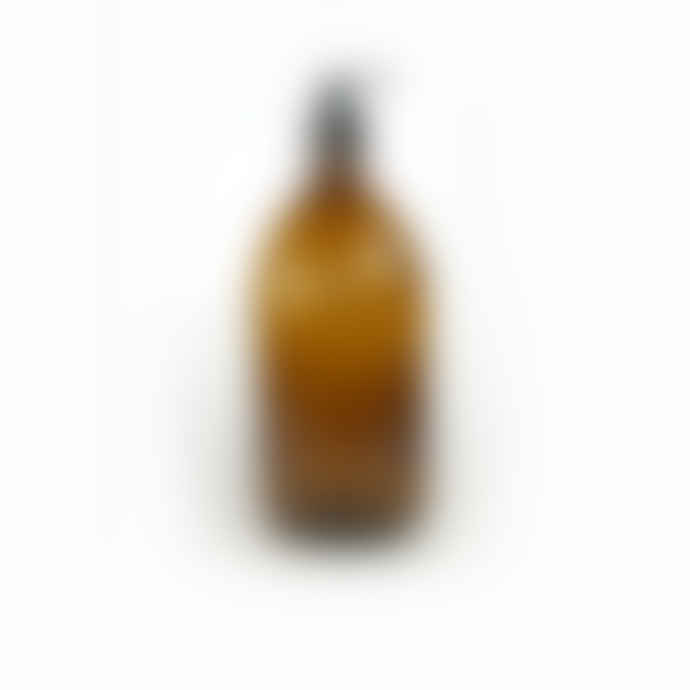 Pair of 500ml Amber Glass Bottle