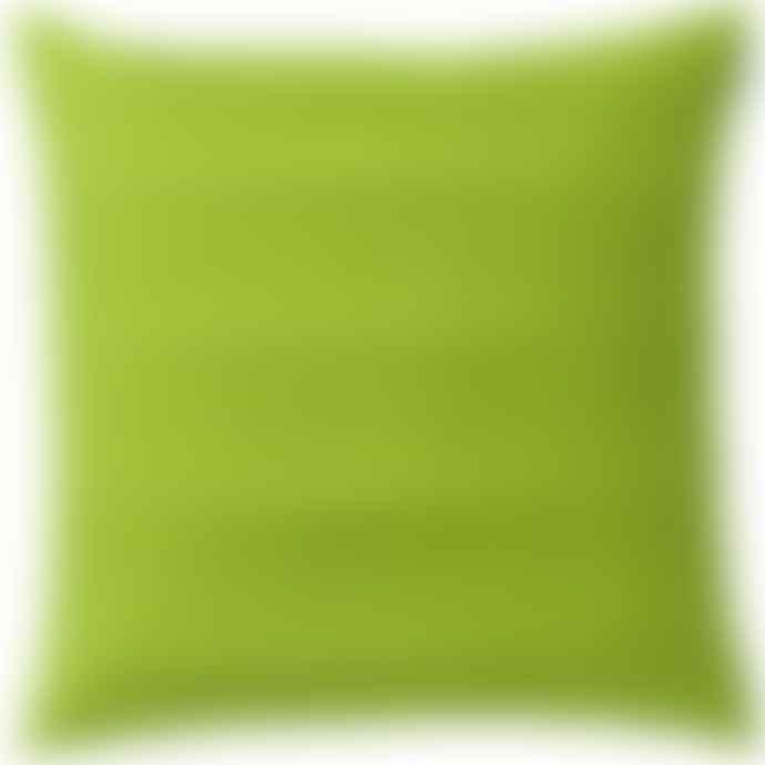 Spira of Sweden Double Pleat Apple Green Cushion
