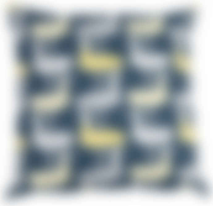 Klippan Yellow Birds Cushion Cover