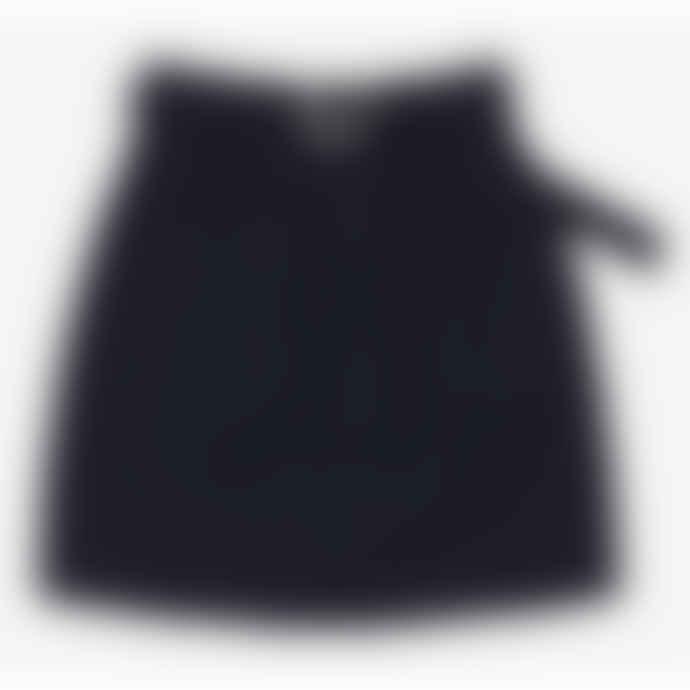 Among Buckle Belt Skirt Black