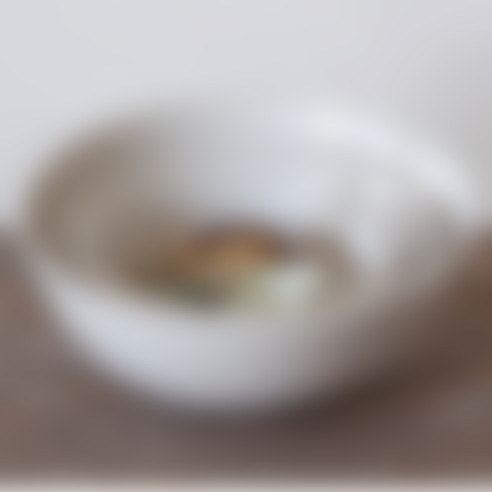 Set of five Porcelain Bowls
