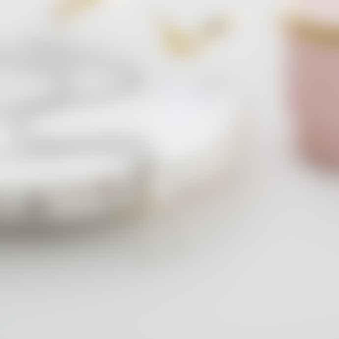 Posh Totty Designs 9ct White Gold Lucky Diamond Wishbone Necklace