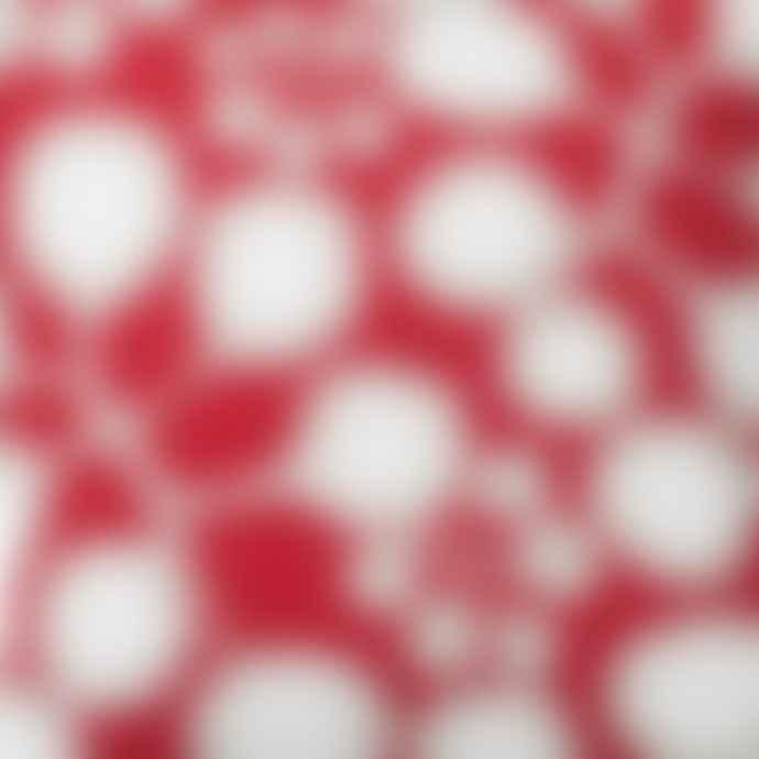 Spira of Sweden Raspberry Sedum Cushion
