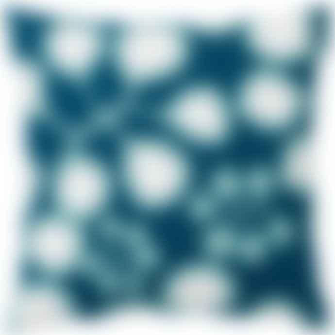 Spira of Sweden Petrol Sedum Cushion
