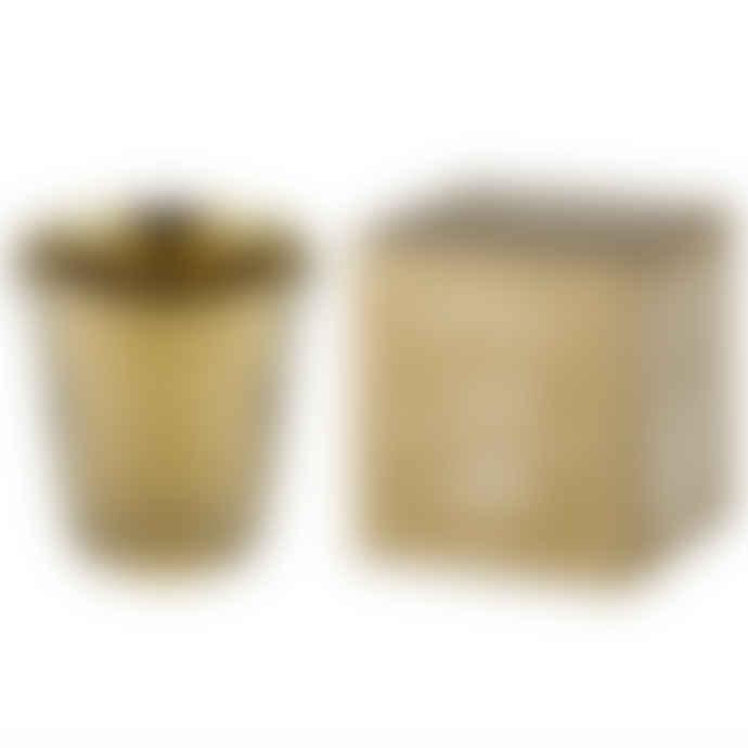 Gold Giant Thimble Desk Tidy Pot