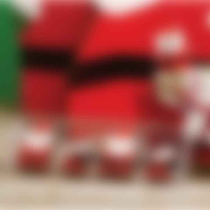 Design Ideas Set of 8 Mini Nordic Santas