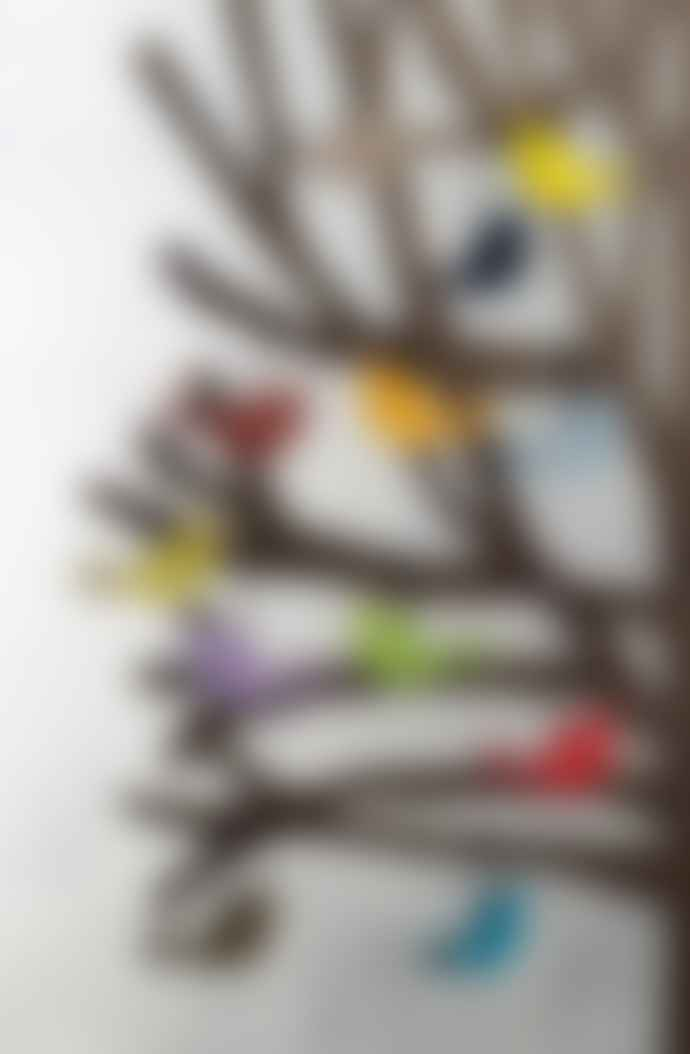 Design Ideas Set of 24 Finch Ornaments