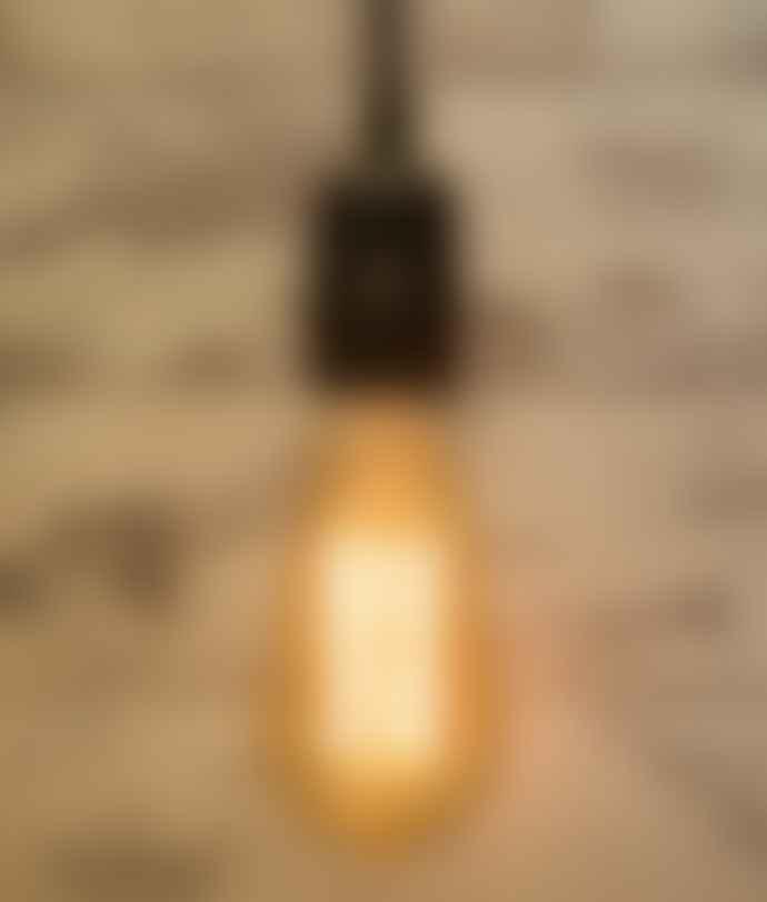 Cuemars Large Teardrop Crossing Filament Bulb