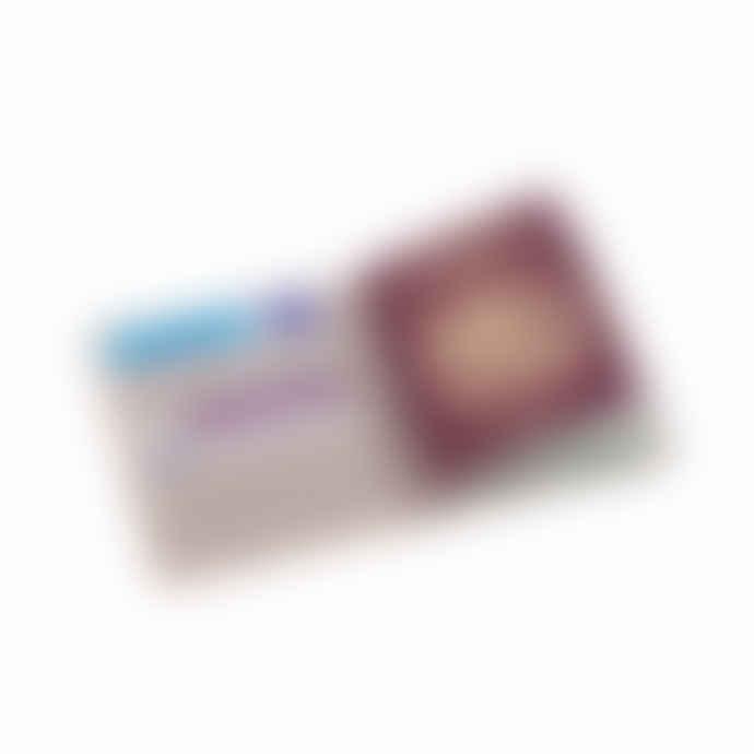 Rose Gold Foily Doily Passport Holder
