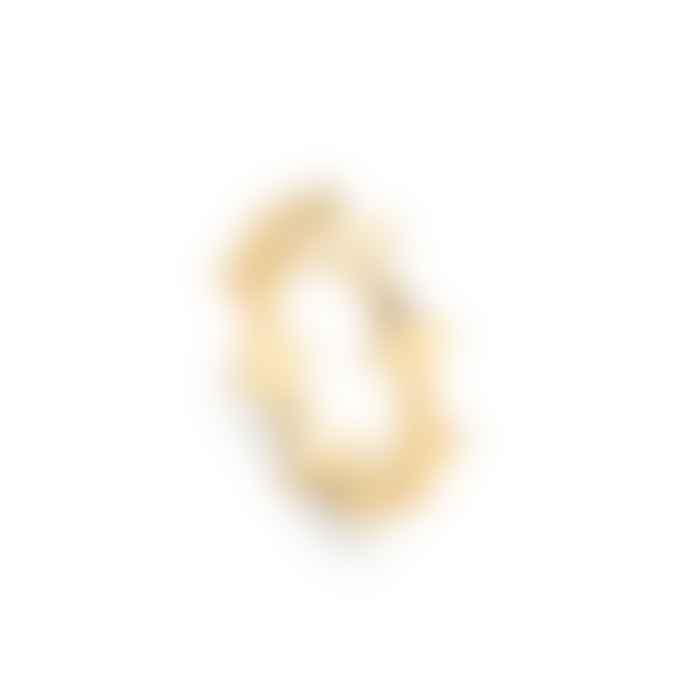 Missoma Gold Nexus Double Arrow Ring